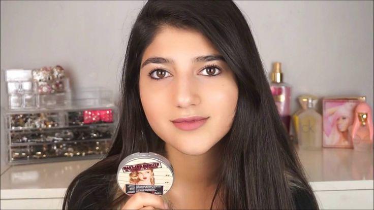 روتين مكياجي للمدرسة + مسابقة / School Makeup Routine!! The balm Giveaway