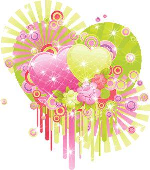 Gifs animados de amor corazones fantasia