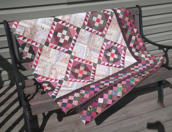 Heirloom Bed Quilt  Roll Roll Cotton Boll in by PersimonDreams, $685.00Quilt Inspiration, Assume Quilt, Quilty Stuff, Quilt Rolls, Quilt Quilt, Quilt Lap, Hunters Quilt, Beds Quilt, Quilt Pattern