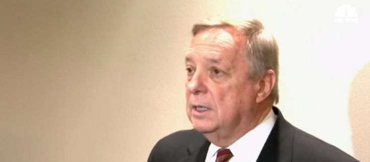 Conservative news site Daily Wire claims Durbin made up an incident that never occurred during the Obama administration.