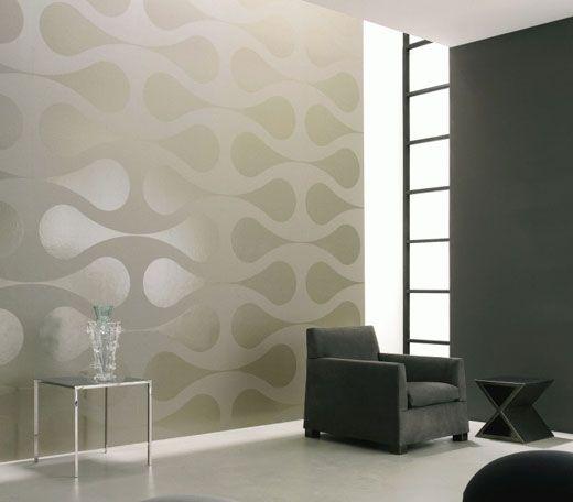 modern wallpaper geometric grey   Contemporary Wallpaper Wallcoverings LOVE IT!