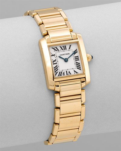 "Cartier Women's ""Tank Francaise"" love this watch"