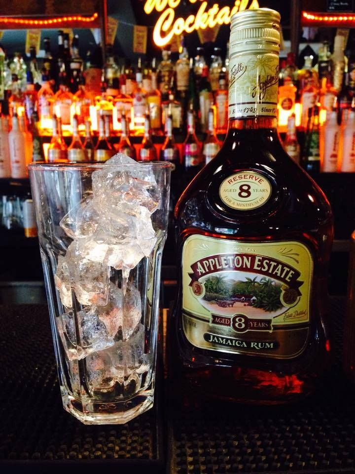 Appleton Reserve 8 Year is blended from 20 pot a column