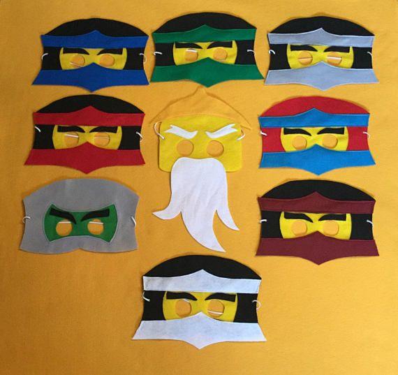 die besten 25 ninjago maske ideen auf pinterest ninjago. Black Bedroom Furniture Sets. Home Design Ideas