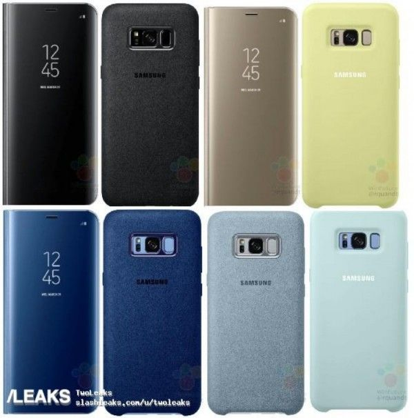 Samsung Galaxy S8 Clearview Standing Cover #GalaxyS8 #GalaxyS8Plus #Samsung