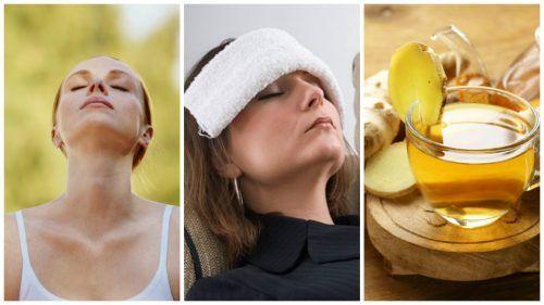 Para aliviar el dolor de cabeza de forma natural podemos aprovechar los beneficios de los
