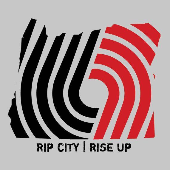 RIP CITY Window Decals  Portland Trailblazers by TaylorMadeLove, $18.00