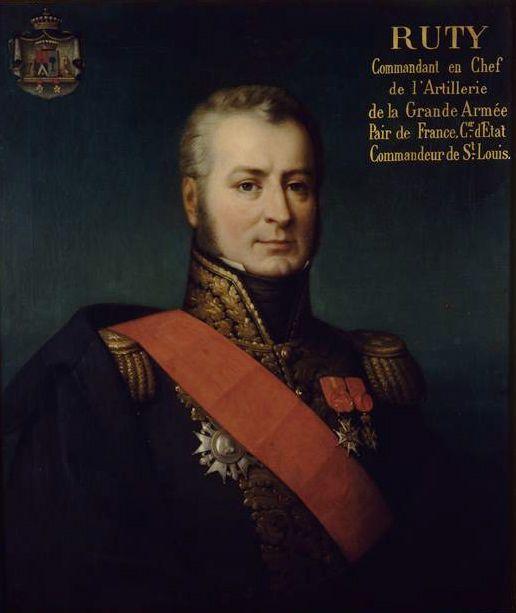 Charles-Étienne-François Ruty, generale