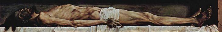 МЕРТВЫЙ ХРИСТОС В ГРОБУ Ганс Гольбейн Младший. Надежда Ионина. 100 великих картин. Книги по истории онлайн. Электронная библиотека