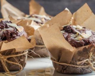 Muffins au Nutella® et amandes allégés en calories
