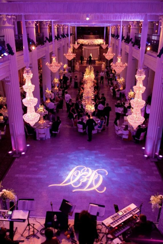 wedding receptions in downtown los angeles%0A Exceptional Wedding Event in Historical Houston Building