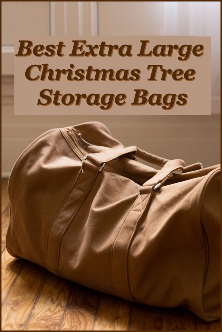 Now when I purchase a Christmas tree, I also purchase an extra large Christmas tree storage bag. Christmas tree storage bags are so inexpensive that it just makes sense to get one that fits your tree and throw out the box that your tree came in.