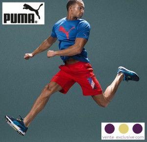 Nu bij Vente-Exclusive: Puma korting tot 60%  Vente-Exclusie is een exclusieve verkoopsite voor met name dameskleding, herenkleding, kinderkleding en aanverwante artikelen.  Deze actie is geldig vanaf vandaag tot maandag 2 november 23u59 #Puma #sport #schoenen