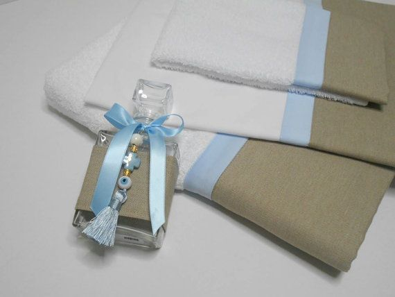 Greek Christening Ladopana towels set Greek Lathopana Baptism Undergarments…
