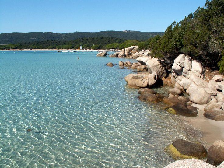 Corse: plage de Santa Ghulia