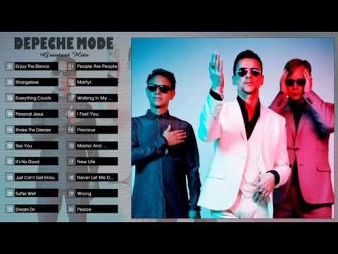 Depeche Mode Greatest Hits  -  Best Songs Of Depeche Mode  |  HD/HQ