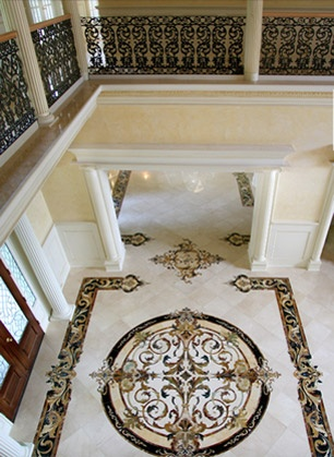 floor...OMG!: Ideas, Marble Floor, Dura Floors, Foyer Designs, Italian Marbles, Entryway, Floor Patterns
