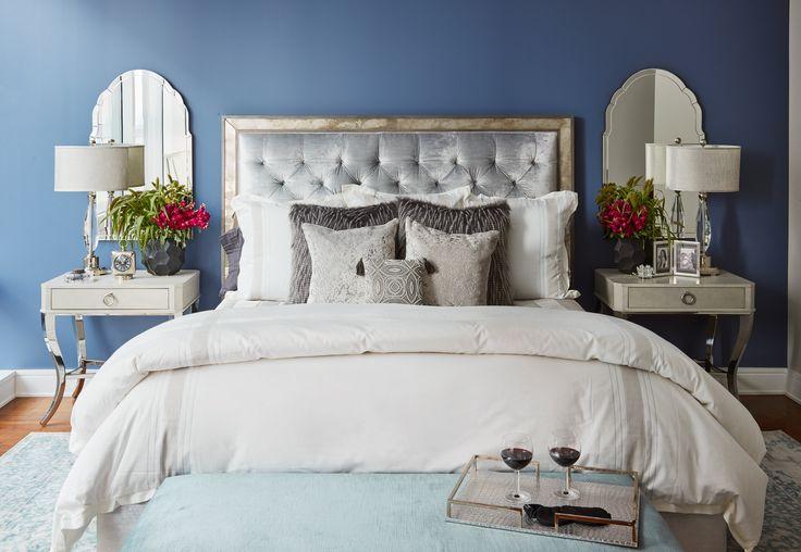 Beautiful and elegant master bedroom #trumptower #chicago #bedroom