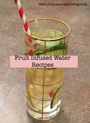 Consuming enough water is important to maintaining optimal health. Here are some of my favorite fruit infused water recipes to keep water interesting