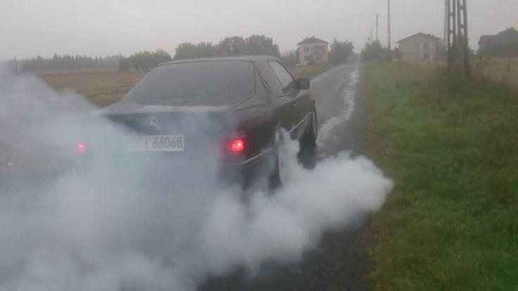 Mercedes w124 купе E200 Жгет резину