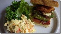 [ポテトサラダ][Potato salad][Potato Salad Recipes][ポテトサラダ作り方][サンドイッチ][ベーコンのサンドイッ][アスパラのベーコン巻][Asparagus Bacon][Scissor salad][Bacon sandwich]
