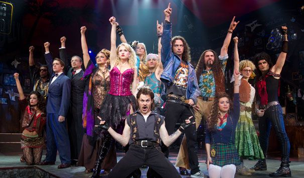 Rock of Ages | They will Rock Broadway! #rockofages #onbroadway #newyorkcity #broadwaytheatredistrict #broadway