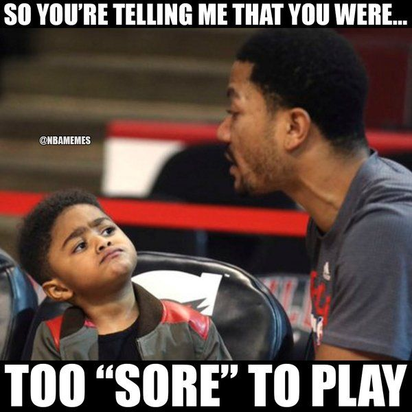 RT @NBAMemes: Derrick Rose's son be like... - http://nbafunnymeme.com/nba-funny-memes/rt-nbamemes-derrick-roses-son-be-like