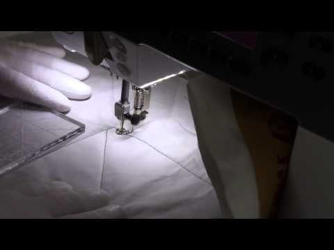 Quilting with Rulers on a Domestic