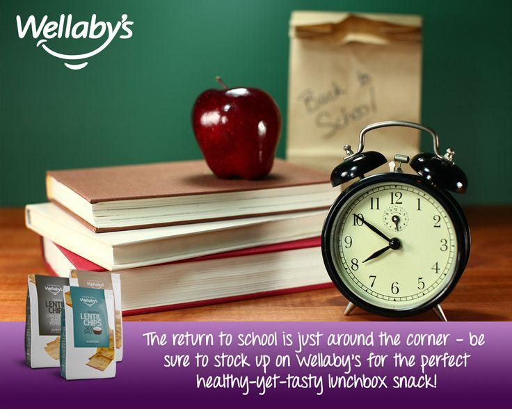 The return to school is just around the corner – be  sure to stock up on Wellaby's for the perfect healthy-yet-tasty lunchbox snack!