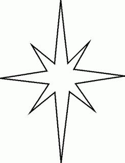 NATIVITY STAR PATTERN
