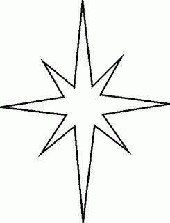 NATIVITY STAR PATTERN