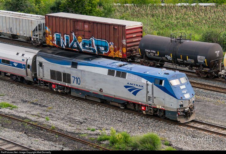 Photo AMTK 710 Amtrak GE P42DC at