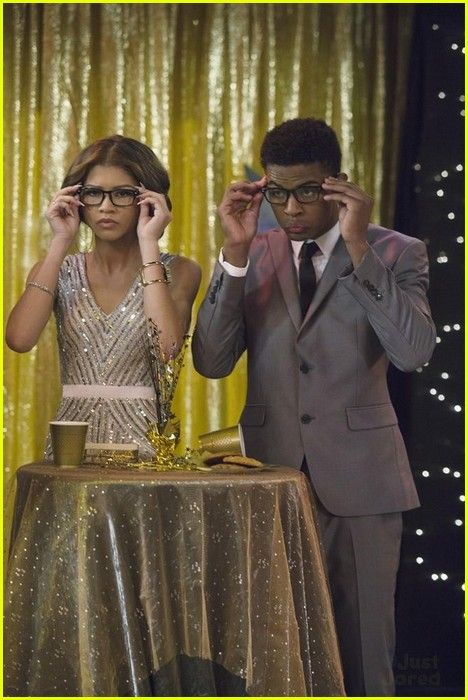 "#KCUndercover 1x01 ""Premiere Episode"" - Zendaya as (K.C.) and Trevor Jackson as (Lincoln)"