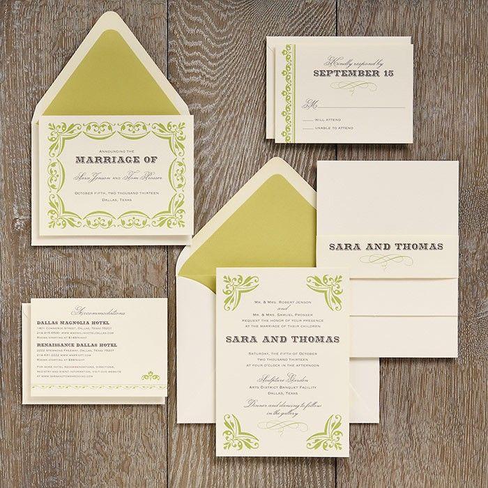 I love the letterpress design on this