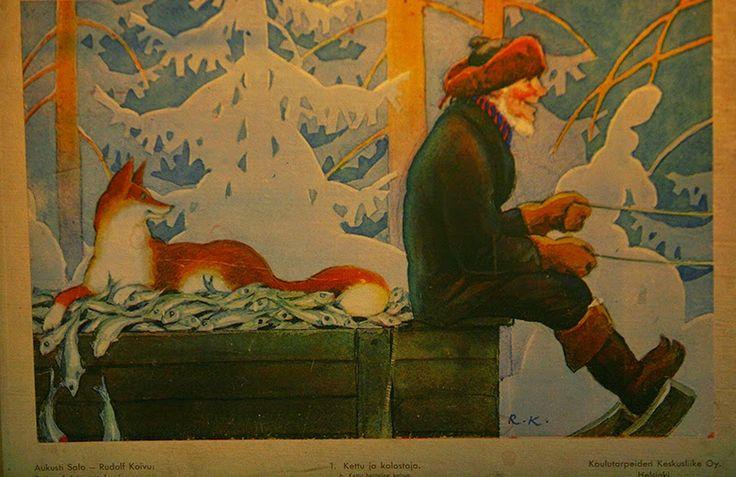 Maatiaismuori: Kansansatu Kettu ja kalastaja