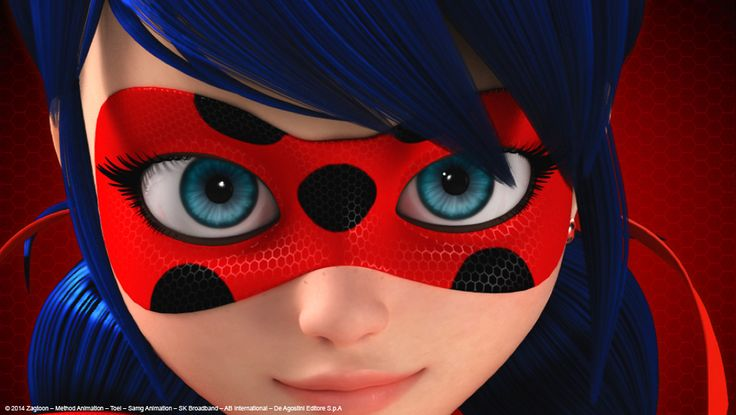 "ca-tsuka:  1st pictures of ""Miraculous Ladybug"" TV series by Zagtoon and Method Animation.It's the first european coproduction with Toei Animation Japan, in partnership with Disney and Bandai."