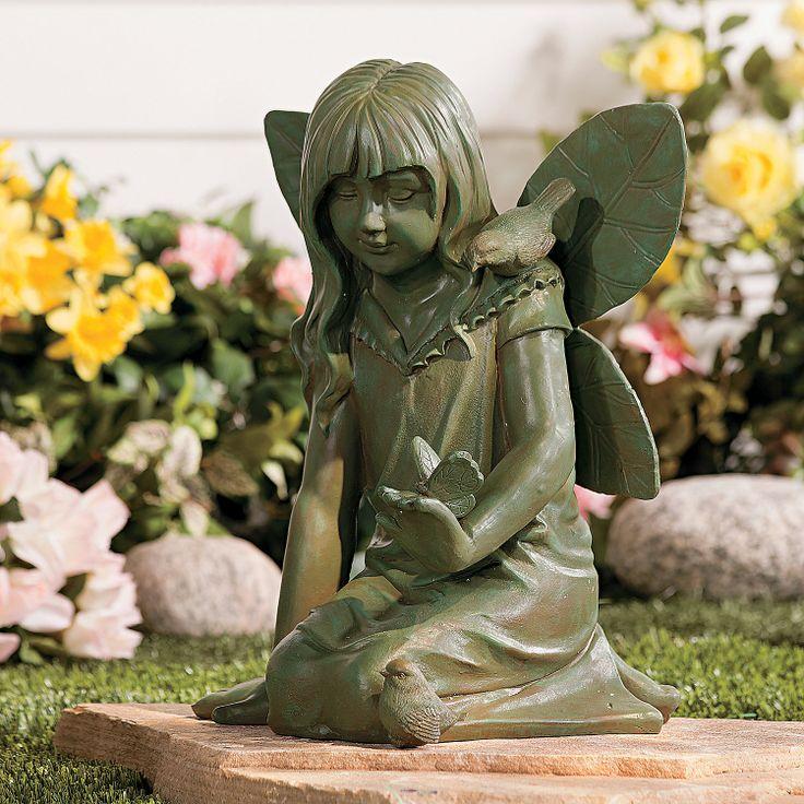 Garden Fairy Statue   TerrysVillage.com