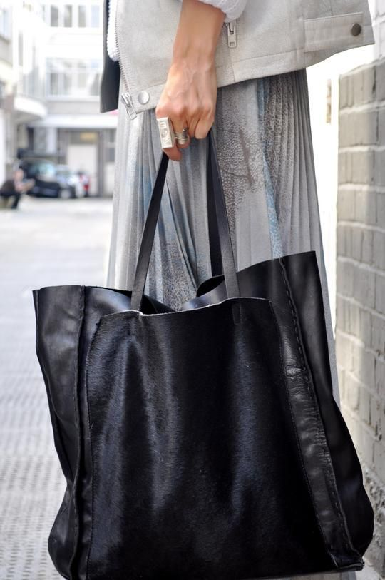 Best 25  Black tote bag ideas on Pinterest | Black tote, Black ...