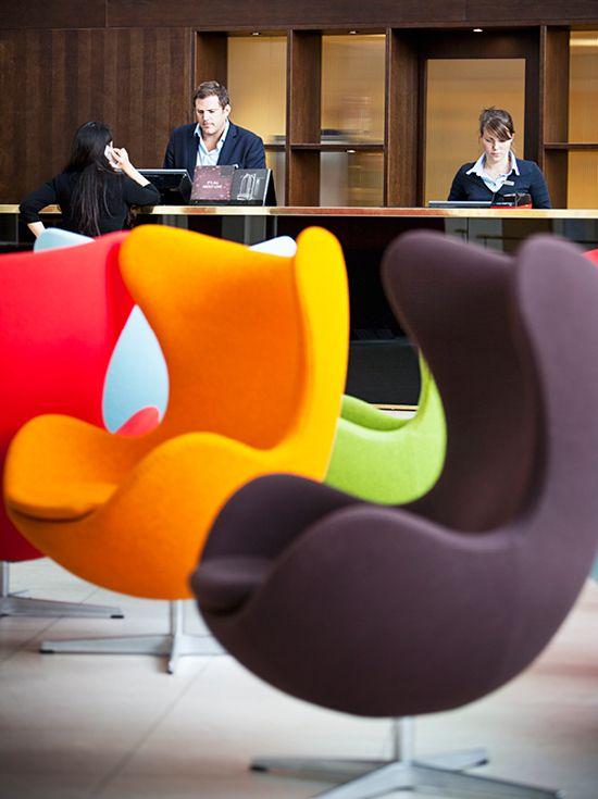 Colorful Chairs - Skt. Petri in Copenhagen