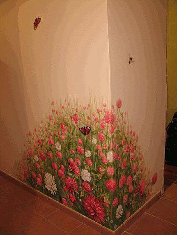 ХУДОЖЕСТВЕННАЯ РОСПИСЬ стен  mural wall