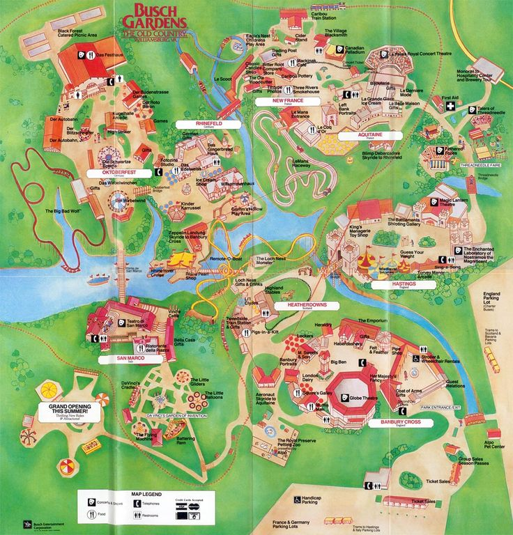 166 Best Images About Theme Park Maps On Pinterest