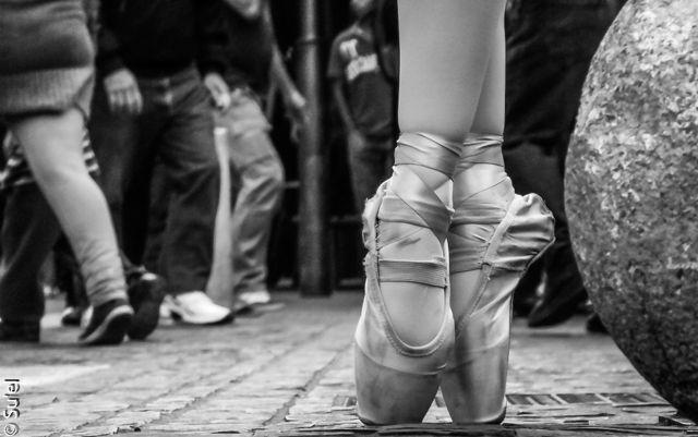 En los pies de una damita: Joana Mariel Madrid, bailarina de Danza Clasica