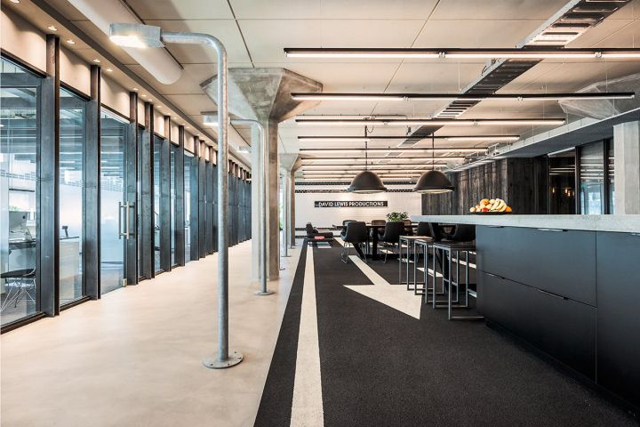 David Lewis Productions Headquarters by TANK, Amsterdam – Netherlands » Retail Design Blog