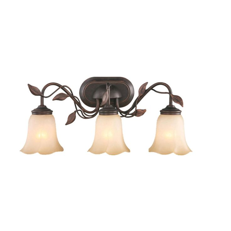 Find This Pin And More On Lighting Allen Roth Eastview Dark Oil Rubbed Bronze Bathroom
