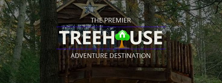 Treehouse World is a real place, with real treehouses, climbing stations, outdoor learning and education, teambuilding opportunities, and even a big swing!