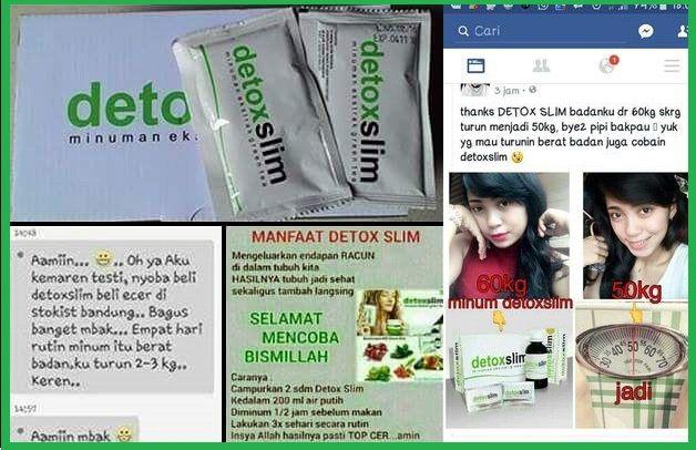 Testi detox msi,detox slim,bahaya detox slim