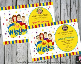 the wiggles party on Etsy, a global handmade and vintage marketplace.