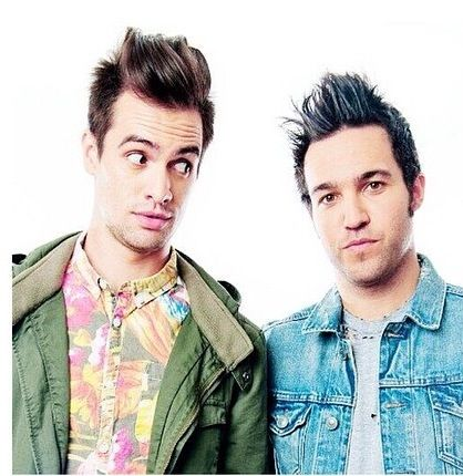 And they have both changed so much over the years Brendon urie and pete wentz