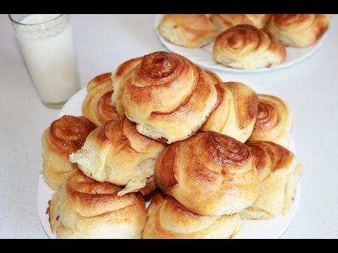Сдобные домашние булочки,мягкие,вкусные. Простой рецепт - YouTube