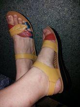 Tienda Online ZZPOHE verano nueva madre de mediana edad de la Mujer de moda las sandalias sandalias antideslizantes inferiores suaves zapatos planos de las mujeres cómodas 35 41 | Aliexpress móvil